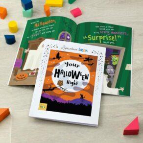 Personalised Childrens Halloween Book