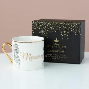Moana Disney Limited Edition Mug with Personalised Gift Box