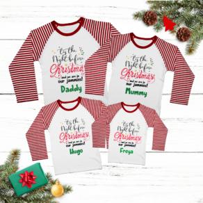 Personalised Family Matching Pyjamas