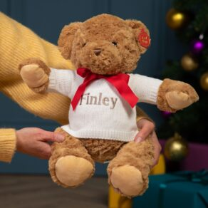 Personalised Keeleco Recycled Large Teddy Bear Soft Toy
