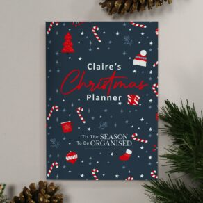 Personalised A5 Christmas Planner