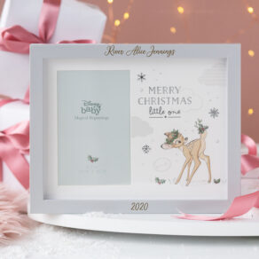 Personalised Disney Bambi Merry Christmas Photo Frame