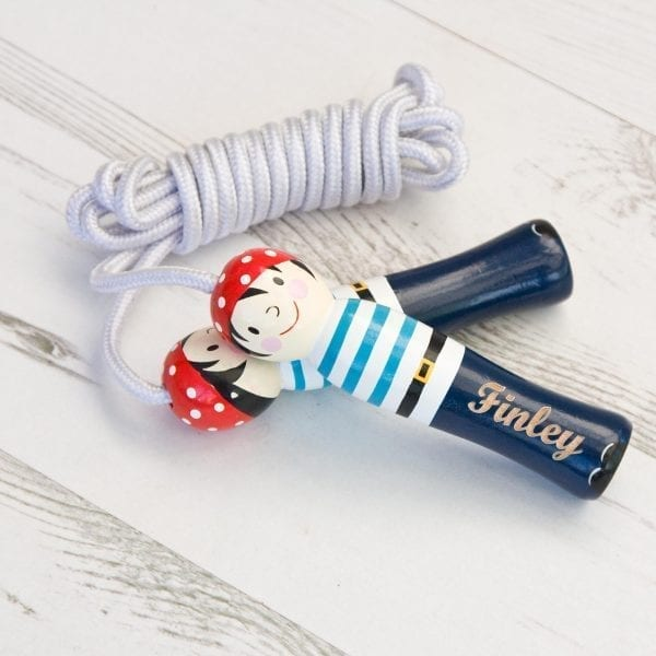 Pirate Skipping Rope Personalised Toy