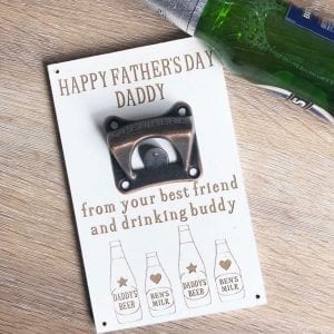 drinking buddy's bottle opener