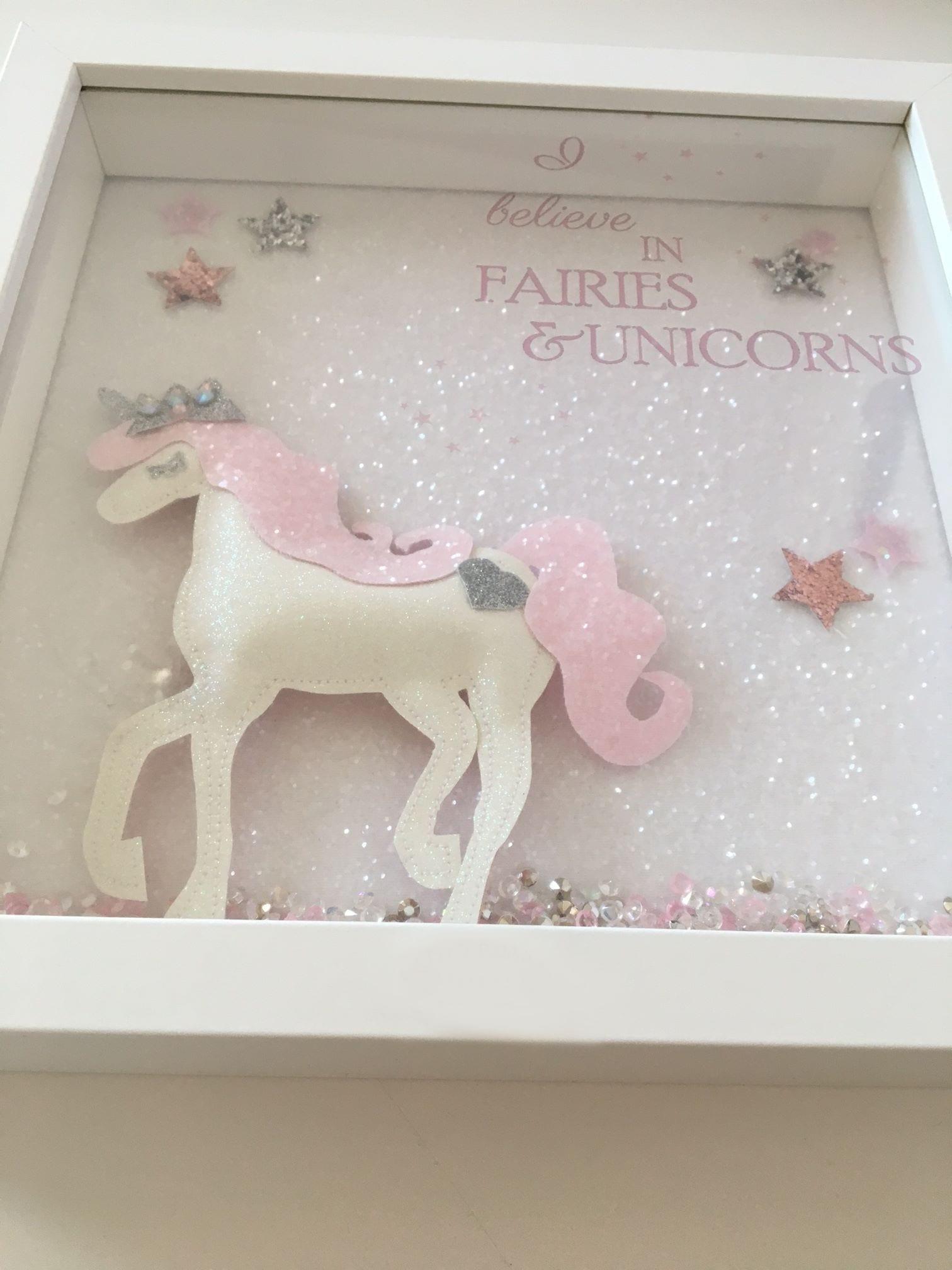 glitter unicorn frame, personalised glitter unicorn frame, unicorn frame