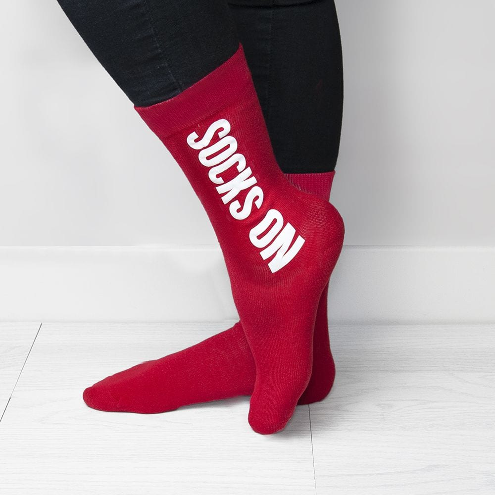 personalised cheeky valentines socks - Valentines Socks