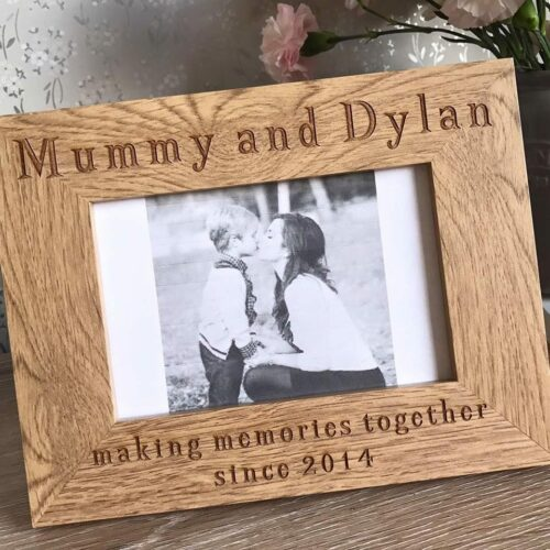 Mummy & Me Making Memories Together Frame