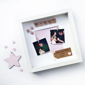 Personalised Mummy Scrabble Frame