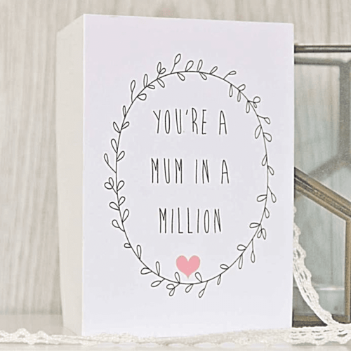 Mothers Day Card 'Mum