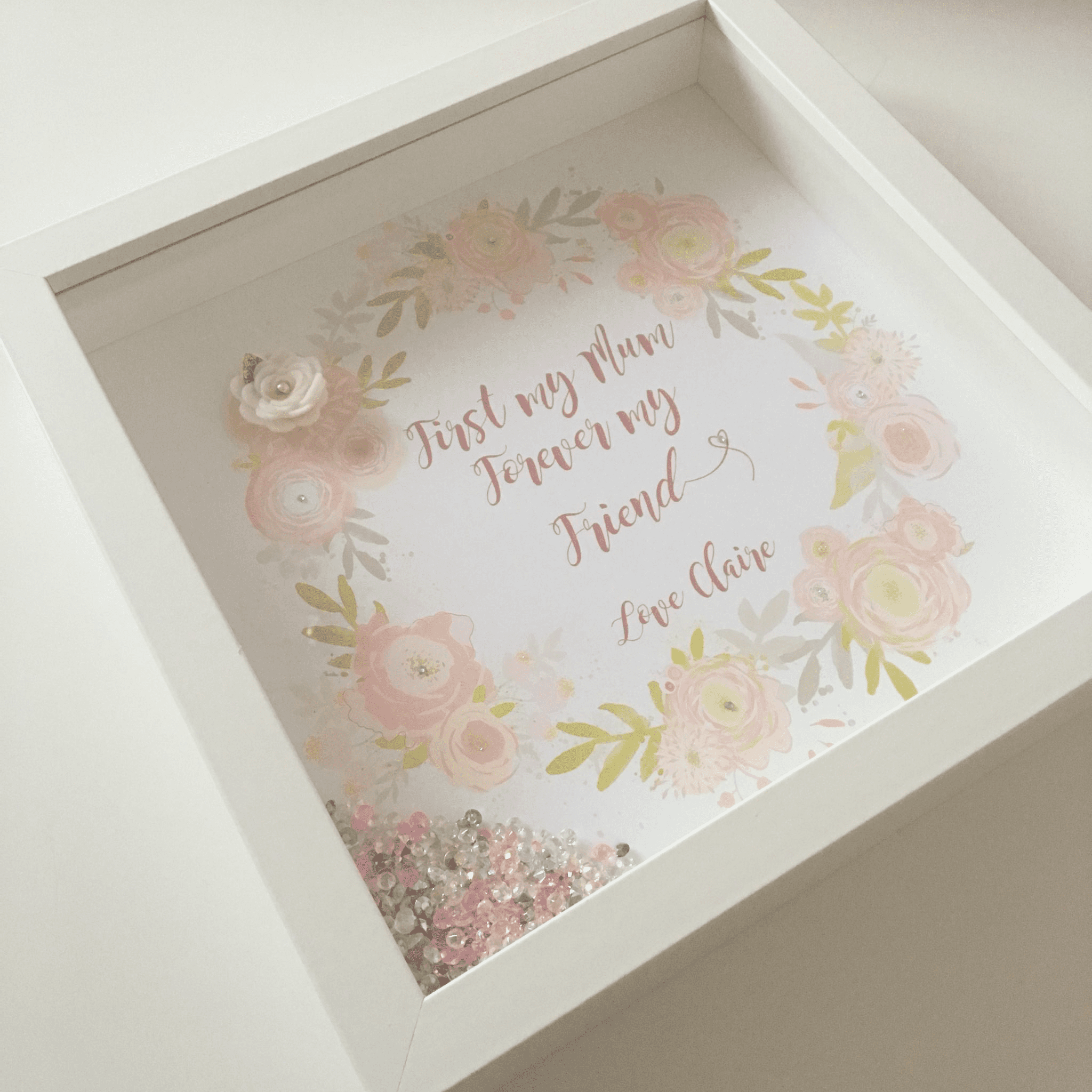 First My Mum Frame Love Unique Personal