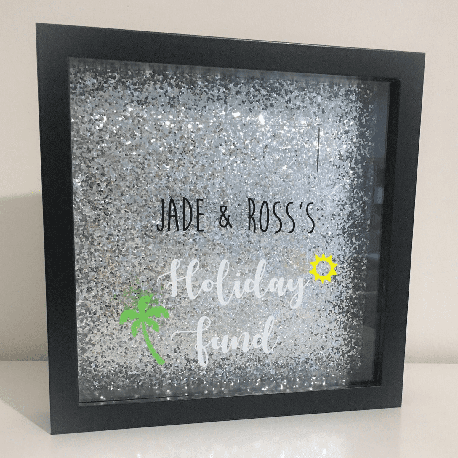Money Box - Personalised Funds Frame | Love Unique Personal
