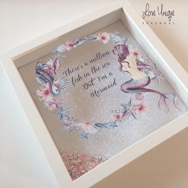 Floating Mermaid Frame | Love Unique Personal